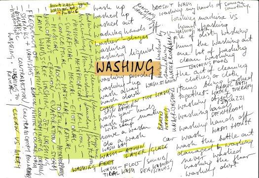 WASHING MAP